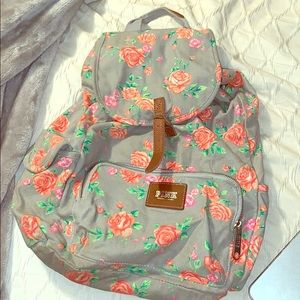 Victoria's Secret rose satchel backpack